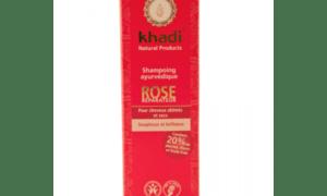 shampooing ayurvédique réparateur rose – KHADI
