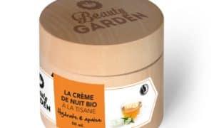 Crème de nuit BIO à la tisane – BEAUTY GARDEN